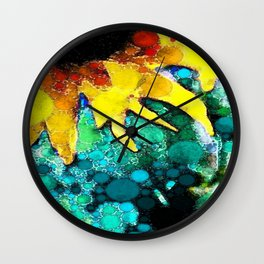 :: Sun Kissed Fate:: Wall Clock