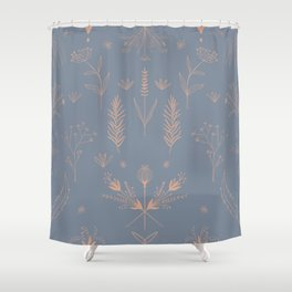 FIELD 3 Shower Curtain