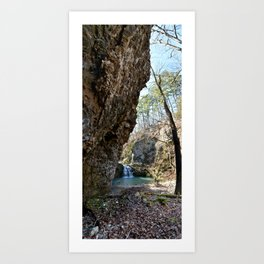 Alone in Secret Hollow with the Caves, Cascades, and Critters, No. 16 of 21 Art Print