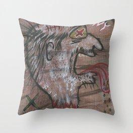 Agony Throw Pillow