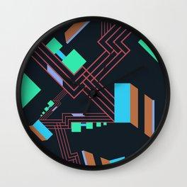 Modern Jazz III Wall Clock