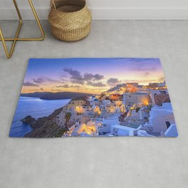Santorini #society6 #decor #buyart Rug