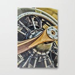 Propeller Metal Print