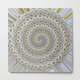 twisted daisy Metal Print