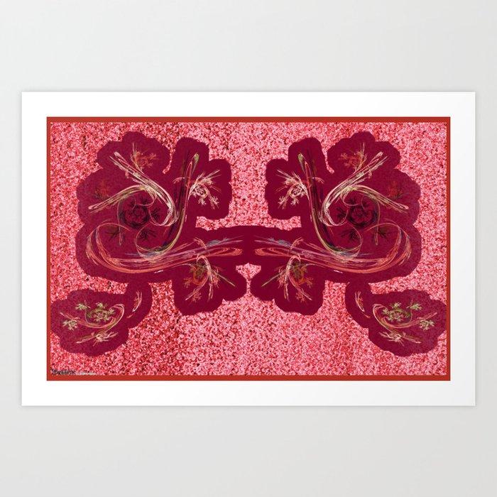 Frakblot Shenlong Art Print