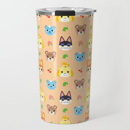 Animal Crossing - Peach Travel Mug