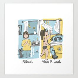 The Many Forms of Ritual Art Print