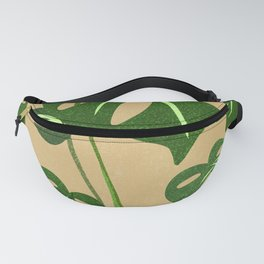 Monstera Philodendron Dream Fanny Pack