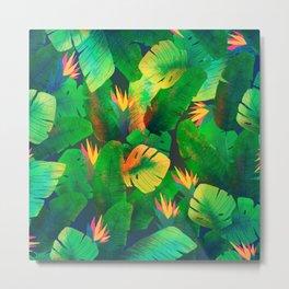 Tropical Leaves 13 Metal Print