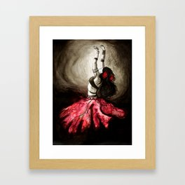 Dancer of Light Framed Art Print