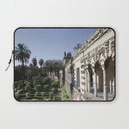 Royal Garden View - Alcazar of Seville Laptop Sleeve