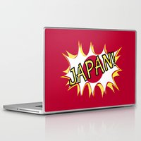 japan Laptop & iPad Skins featuring Japan by mailboxdisco