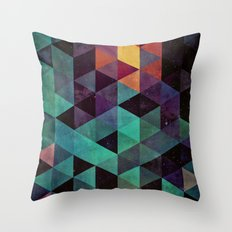 dyyp tyyl Throw Pillow