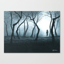 The Encounter Canvas Print