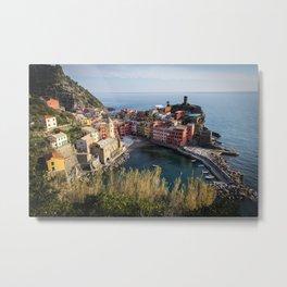 Bella Vernazza Metal Print
