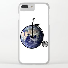 The bicycle of life Clear iPhone Case