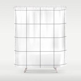 Gigant Grid Shower Curtain