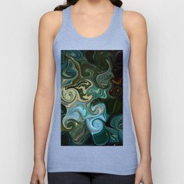 Goddess of Nature Abstract Unisex Tank Top