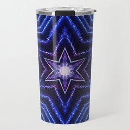 Blue Stars Travel Mug