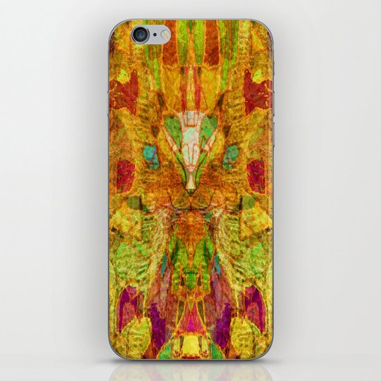 Hiding Face iPhone & iPod Skin