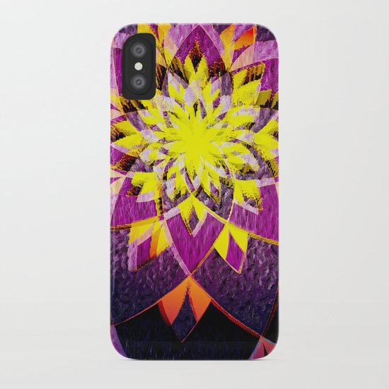 Star Blossom iPhone Case