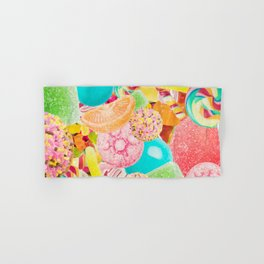 Candy Crush Hand & Bath Towel