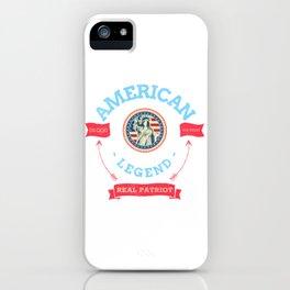 American Legend iPhone Case