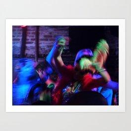 Dancing, 2011.  New Orleans, LA. Art Print