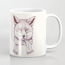 Fox and scarf Coffee Mug