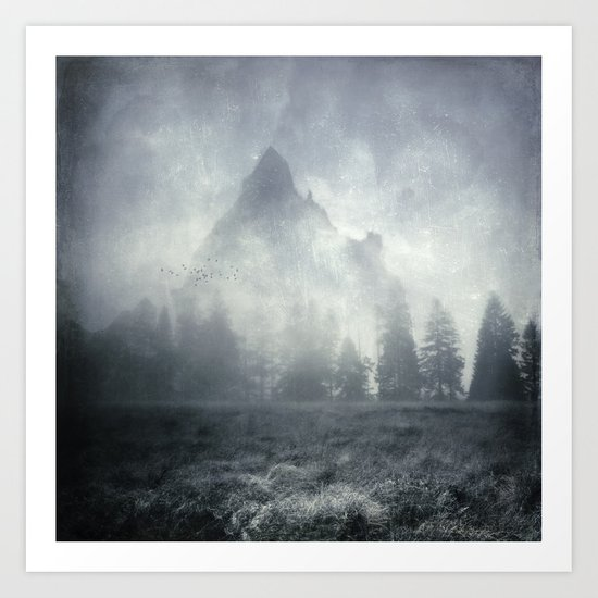 guardians of lonely mountain Art Print