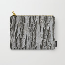 Rustic Tree Bark Carry-All Pouch