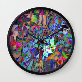 Displaced Reality Wall Clock