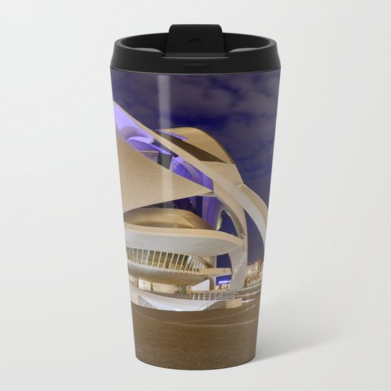 Opera house. Valencia Metal Travel Mug