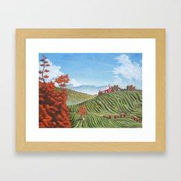 Vista at Belmont Framed Art Print