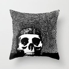 caveira Throw Pillow