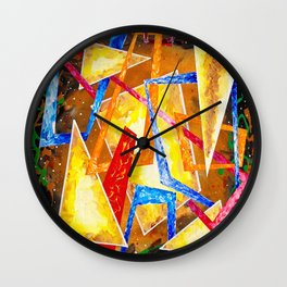 Memories / Connections Wall Clock