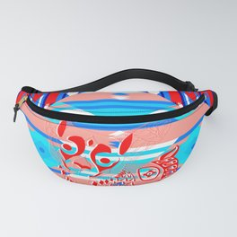 red dog ecopop Fanny Pack