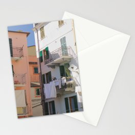 Laundry Day in Italy Stationery Cards