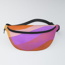 Abstraction_OCEAN_Beach_Wave_Minimalism_001 Fanny Pack