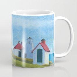 Plymouth Lighthouse Coffee Mug