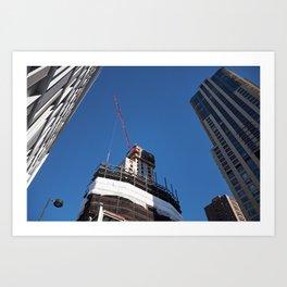 Builders Art Print