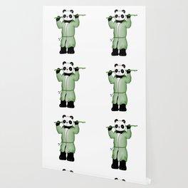 Panda the wild warrior Wallpaper