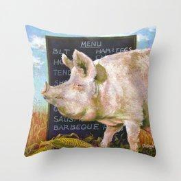 The Vegan Throw Pillow