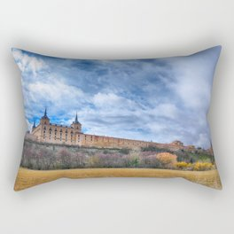 Ducal palace at Lerma, Castile and Leon. Spain. Rectangular Pillow