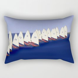 In May, May's Regatta - shoes stories Rectangular Pillow