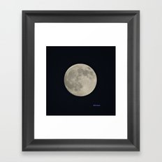 Another August Moon Framed Art Print