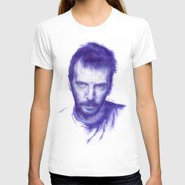 Mathieu Kassovitz on ballpen T-shirt