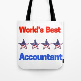 World's Best Accountant Tote Bag