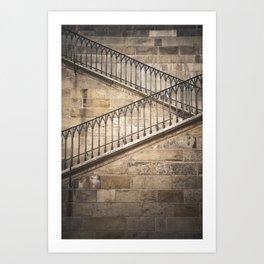 The way up Art Print