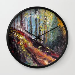 Hocking Hills Wall Clock